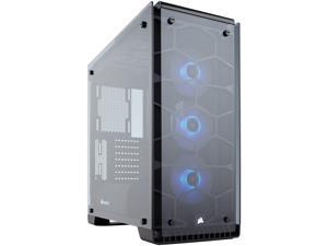 Corsair Crystal Series 570X RGB CC-9011098-WW Steel / Tempered Glass ATX Mid Tower Case