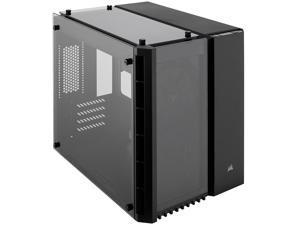 Corsair Crystal Series 280X CC-9011134-WW Black Steel / Plastic / Tempered Glass Micro-ATX Case Computer Case