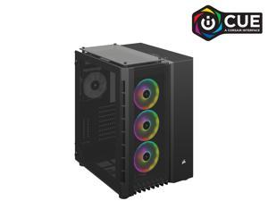 Corsair Crystal Series 680X RGB CC-9011168-WW Black Steel / Plastic High Airflow Tempered Glass ATX Smart Case