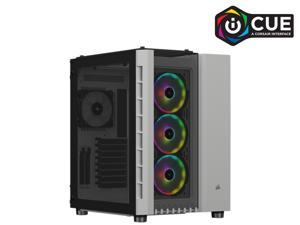 Corsair Crystal Series 680X RGB CC-9011169-WW White Steel / Plastic High Airflow Tempered Glass ATX Smart Case
