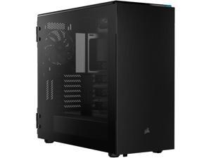 Corsair Carbide Series 678C CC-9011167-WW Black Steel / Plastic / Tempered Glass ATX Mid Tower Low Noise Tempered Glass ATX Case