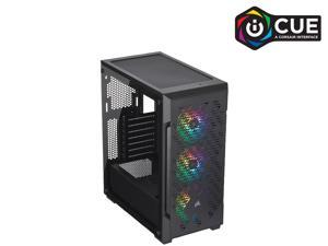 Corsair iCUE 220T RGB Airflow CC-9011173-WW Black Steel / Plastic / Tempered Glass ATX Mid Tower Computer Case