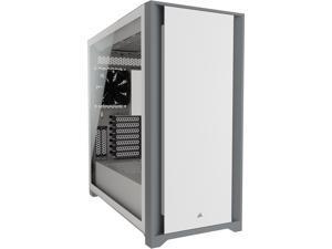 CORSAIR 5000D Tempered Glass Mid-Tower ATX PC Case, White, CC-9011209-WW