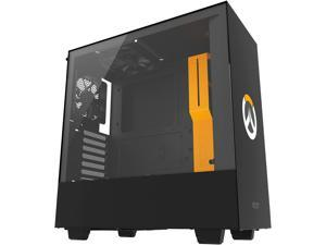 NZXT H500 - Overwatch Special Edition - Compact ATX Mid-Tower PC Gaming Case - Tempered Glass Panel - All-Steel Construction - Enhanced Cable Management System - Water-Cooling Ready