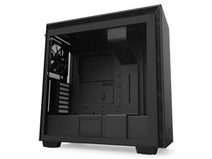 NZXT H710 - ATX Mid Tower PC Gaming Case - Front I/O USB Type-C Port - Quick-Release Tempered Glass Side Panel - Cable Management System - Water-Cooling Ready - Steel Construction - Black