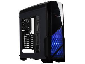 Rosewill Gaming ATX Mid Tower Computer Case, Supports up to 380 mm Long VGA Card, 3 Fans Pre-installed, Side-window Panel - NAUTILUS