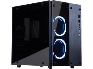 Rosewill Cullinan PX RGB Cube Mini ITX/ MicroATX/ ATX Mid Tower Gaming PC Computer Case, RGB Fans