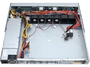 SUPERMICRO CSE-113MTQ-560CB Black 1U Rackmount Server Chassis