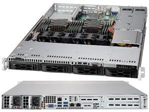 SUPERMICRO CSE-LA15TQC-R504W Silver Rackmount Server Case