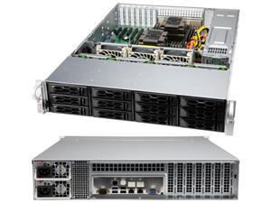 SUPERMICRO LA26E1C4-R609LP Silver 2U Rackmount Server Case