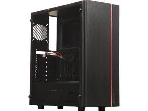 RAIDMAX BLAZAR X910-FAB Black Plastic / Steel / Acrylic ATX Mid Tower Computer Case