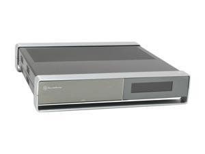 SILVERSTONE Black Aluminum / Steel Milo Series ML02B-MXR Micro ATX Media Center / HTPC Case