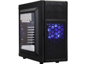 SilverStone PS11B-W Steel ATX / Micro ATX Mid Tower Computer Case Optional Standard PS2(ATX) Power Supply