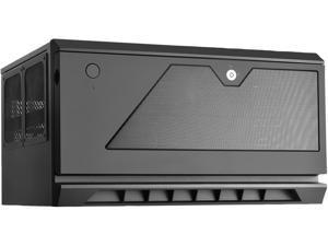 SilverStone Case Storage Series CS381 SST-CS381B Black Steel / Plastic Micro ATX / Mini-ITX Computer Case Support SFX / SFX-L (sold separately) Power Supply