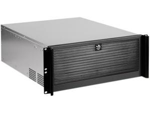 iStarUSA D-416 Black Material of Front Bezel	: Aluminum Material of Handle: Aluminum Material of Main Chassis: Galvanized Steel 4U Rackmount Compact Stylish Chassis
