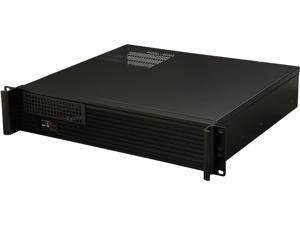 iStarUSA D-213-MATX-DT Black 2U Compact Server / Desktop Chassis