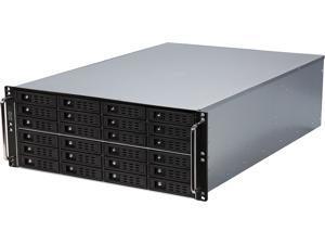 Athena Power RM-4UG4243HE12 Black SGCC (T=1.2mm) 4U Rackmount Server Case
