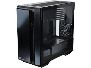 Seasonic SYNCRO Q704 Mid-Tower Case, Reverse-ATX Design, CONNECT Module Cable Management Hub, Large Air Intake, Side Glass Panel, Pre-installed 4 NIDEC Fans, Magnetic Removable Dust Filters