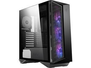 MSI MPG GUNGNIR 110M Black Steel / Plastic / Tempered Glass ATX Mid Tower Computer Case