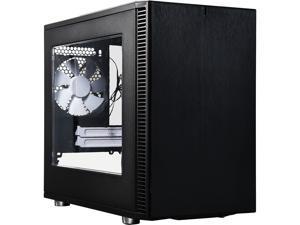 Fractal Design Define Nano S Black Window Silent Mini-ITX Mini Tower Computer Case