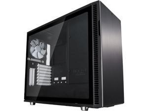 Fractal Design Define R6 Black Brushed Aluminum/Steel ATX Silent Modular Tempered Glass Window Mid Tower Computer Case
