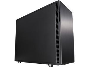 Fractal Design Define R6 USB-C Black Brushed Aluminum/Steel ATX Silent Modular Mid Tower Computer Case
