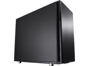 Fractal Design Define R6 USB-C Blackout Brushed Aluminum/Steel ATX Silent Modular Mid Tower Computer Case