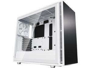 Fractal Design Define S2 White Brushed Aluminum/Steel ATX Silent Modular Clear Tempered Glass Window Mid Tower Computer Case