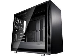 Fractal Design Define S2 Blackout Brushed Aluminum/Steel ATX Silent Modular Light Tint Tempered Glass Window Mid Tower Computer Case