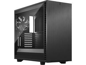 Fractal Design Define 7 Gray Brushed Aluminum/Steel E-ATX Silent Modular Tempered Glass Window Mid Tower Computer Case