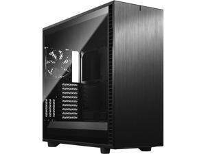 Fractal Design Define 7 XL Black Brushed Aluminum / Steel E-ATX Silent Modular Tempered Glass Window Full Tower Computer Case