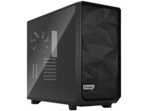 Fractal Design Meshify 2 Black ATX Flexible Dark Tinted Tempered Glass Window Mid Tower Computer Case, FD-C-MES2A-02