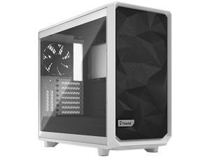 Fractal Design Meshify 2 White ATX Flexible Tempered Glass Window Mid Tower Computer Case, FD-C-MES2A-05