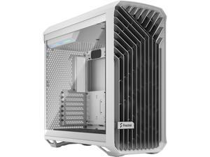 Fractal Design Torrent White E-ATX Tempered Glass Window High-Airflow Mid Tower Computer Case FD-C-TOR1A-03