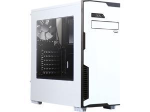 DIYPC Jax11-W White USB 3.0 ATX Mid Tower Computer Case with Pre-installed 1 x 120mm White Fan
