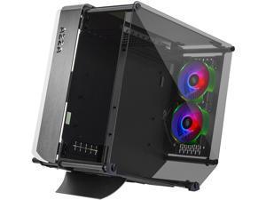 AZZA Optima 803 CSAZ-803 Black Steel / Tempered Glass ATX Mid Tower Computer Case