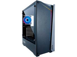 AZZA APOLLO 430 CSAZ-430B-DF1 Black ATX Mid Tower Computer Case