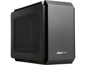 COUGAR QBX Black Mini-ITX Ultra-Compact Pro Gaming Case