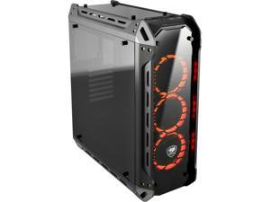 COUGAR Panzer-G Black ATX Mid Tower LED Gaming Case