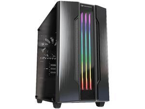 COUGAR Gemini M-Iron Gray Iron Gray Mini Tower Computer Case w/ Integrated Trelux RGB Lighting