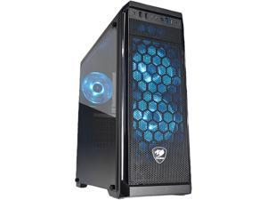 COUGAR MX330-G Air Black Steel / Tempered Glass ATX Mid Tower Computer Case