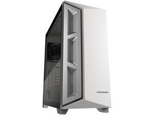 COUGAR Dark Blader X5 White Mid-Tower Case with Superior Airflow