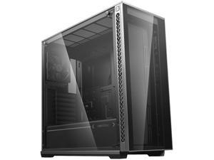 DEEPCOOL MATREXX 70 Mid-Tower Case Modular Design Full-size Tempered Glass GPU Vertical Installation Quick Open Panels