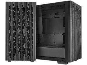 DeepCool MATREXX 40 with Full-size Tempered Glass Side Panel, High Airflow Cooling, and Removable Drive Cage Micro ATX/Mini ITX Tower Case