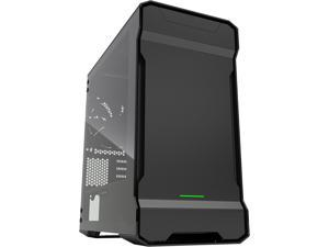 Phanteks Enthoo Evolv PH-ES314ETG_BK Satin Black Aluminum (3mm), Tempered Glass (3mm), Steel Chassis Micro ATX Tower Computer Case