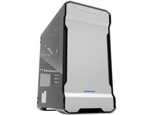Phanteks Enthoo Evolv PH-ES314ETG_GS Galaxy Silver Aluminum (3mm), Tempered Glass (3mm), Steel Chassis Micro ATX Tower Computer Case