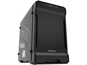 Phanteks Enthoo Evolv ITX Tempered Glass PH-ES215PTG_BK Black Steel plates, Plastic, Steel chassis Mini-ITX Tower Computer Case