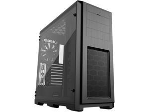 Phanteks Enthoo Pro TG PH-ES614PTG_BK Integrated RGB lighting Tempered Glass Side Panel ATX Full Tower Computer Case - Black