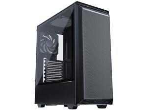 Phanteks Eclipse P300A High Airflow Full-Metal Mesh Design, Compact ATX Mid-Tower, 120mm Black Case Fan, Black, PH-EC300ATG_BK01