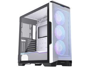 Phanteks Eclipse P500A High Airflow Full-metal Mesh Design, ATX Mid-tower, Digital-RGB Lighting, 140mm D-RGB Case Fans, Tempered Glass, Dual System Capable, White